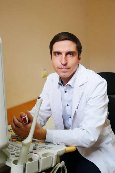 Врач ультразвуковой диагностики Гончарь Алексей Владимирович